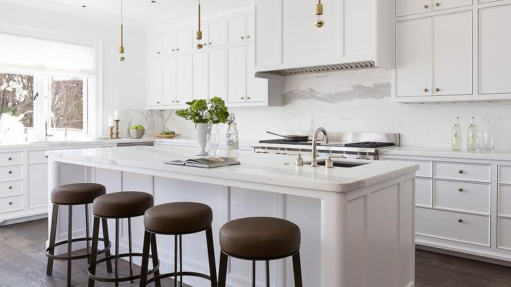 Super White Kitchen Cabinets Transitional Kitchen