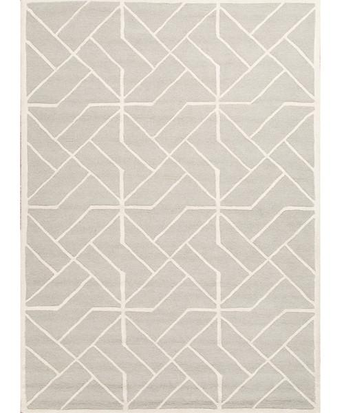 Gray Geometric Shelby Rug