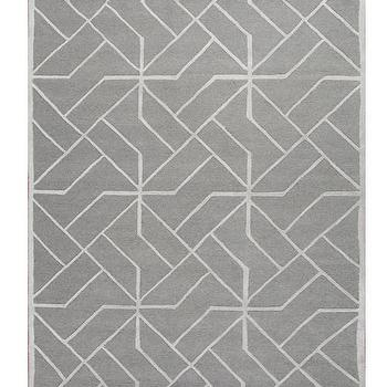 Superb Geometric Pattern Rug. «
