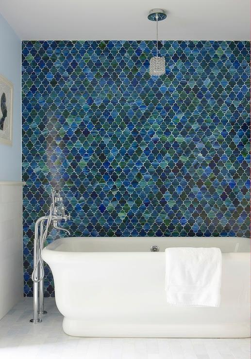 Moroccan Bathroom Floor Tiles Design Ideas