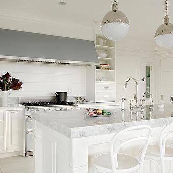 Bon Thick Princess White Quartzite Kitchen Countertops
