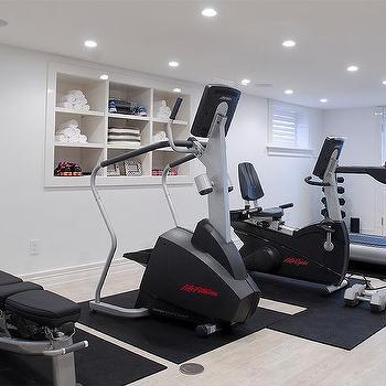 Walk Out Basement Home Gym