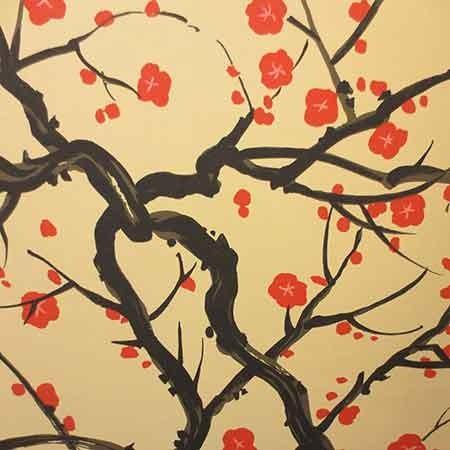 Grey Family Tree Wallpaper