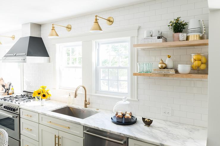 15 Amazing White Modern Farmhouse Kitchens - City Farmhouse on shaker homes, shaker cottage kitchen, shaker transitional kitchen, shaker barn, shaker contemporary kitchen, shaker living room, shaker bedroom, shaker dining room, shaker traditional kitchen,