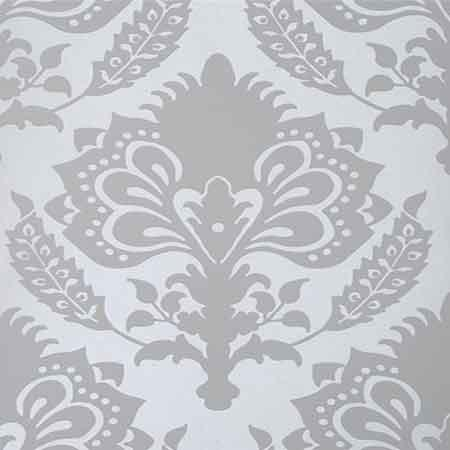 Spring Green Damask Fabric Green Metallic Damask Fabric