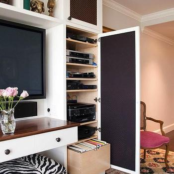 Built In Media Cabinet Design Ideas - Built in media center designs