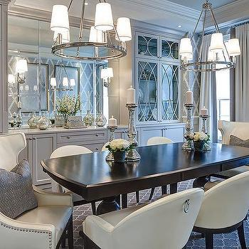 Dining Room Mirrored Buffet Design Decor Photos