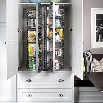 Rotating Kitchen Shelves Design Ideas