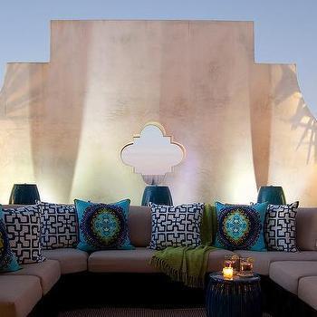 Beautiful Moroccan Style Outdoor Pillows Design Ideas GZ09