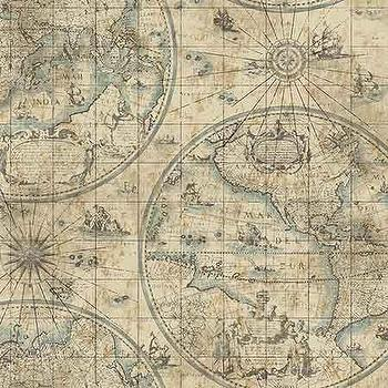 World map wallpaper products bookmarks design inspiration and tan westminster wallpaper gumiabroncs Choice Image