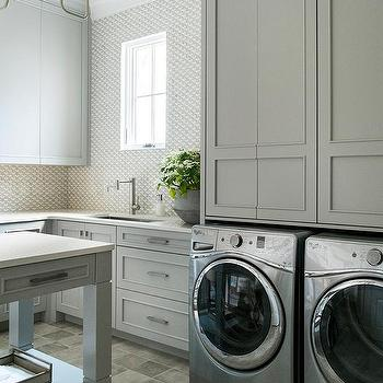 gray laundry room cabinets design ideas Best Laundry Room Cabinets