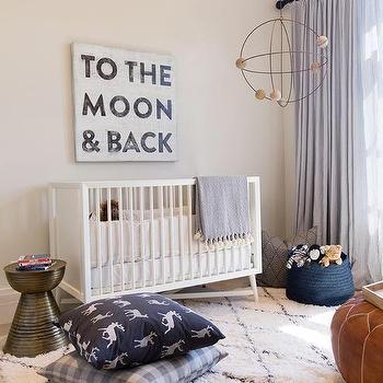 Dwellstudio Mid Century Modern Crib Design Ideas