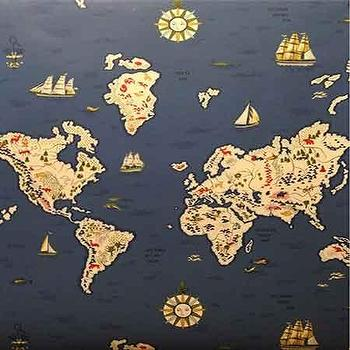 World map wallpaper products bookmarks design inspiration and blue expedition novelty map wallpaper gumiabroncs Images