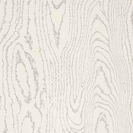 silver faux bois wallpaper - Grain Wallpaper