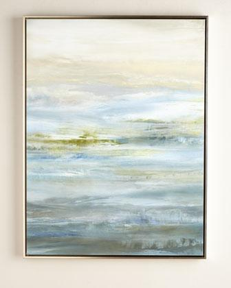 Grey And Blue Escapism Giclee