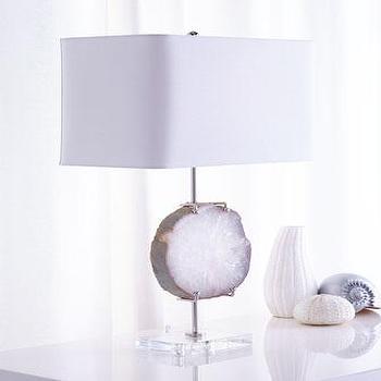 White Regina Andrew Design Exhibit Lamp