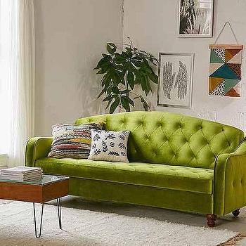 Olive Ava Storage Sleeper Sofa