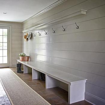 Gray Shiplap Walls Design Ideas