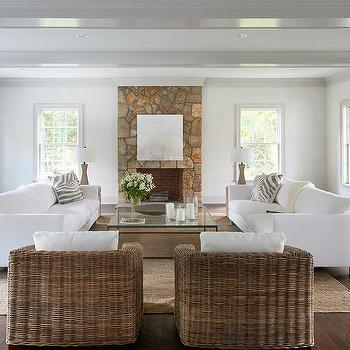 Face To Face Sofas Transitional Living Room