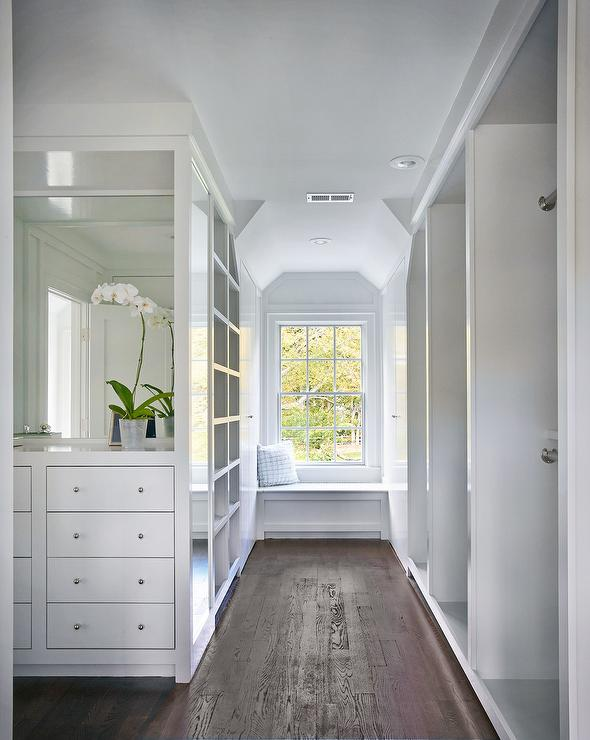 Closet Dresser Under Window Design Ideas