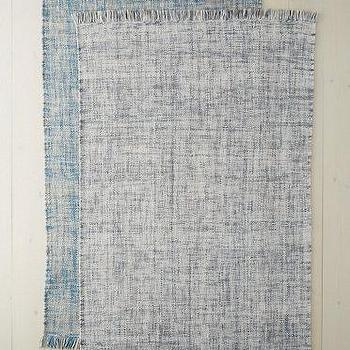 Steven Alan Grey Tweed Wool Rug