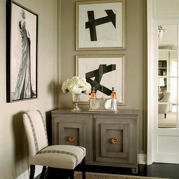 Black Abstract Dining Room Art Design Ideas