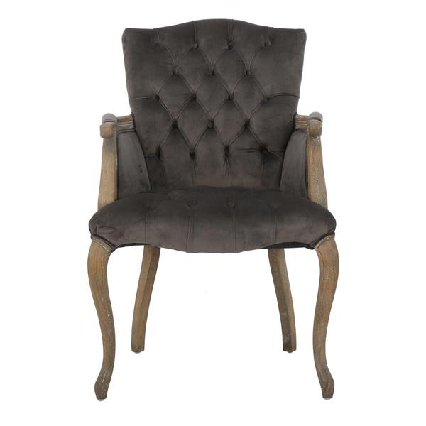 Christopher Knight Home Moira Grey Velvet Arm Dining Chair : velvet grey arm upholstered dining chair from www.decorpad.com size 600 x 600 jpeg 21kB