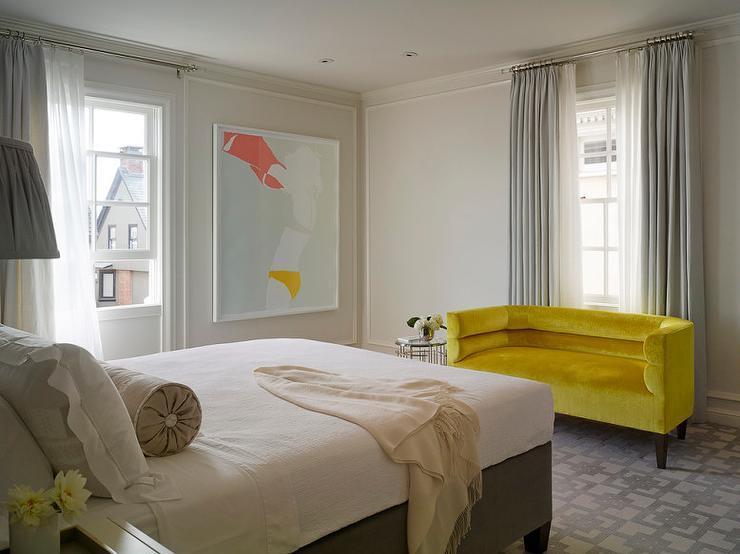 Bedroom Design Ideas Yellow yellow and gray bedroom design ideas