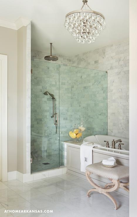 Tub Next To Shower Design Ideas