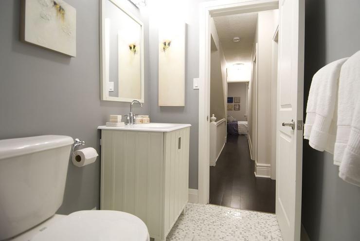 Gray yellow bathroom design decor photos pictures for Bathroom ideas yellow and gray