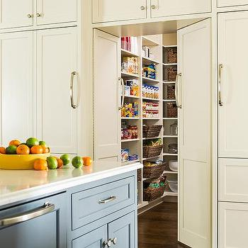 Fold In Pantry Cabinet Doors Design Ideas