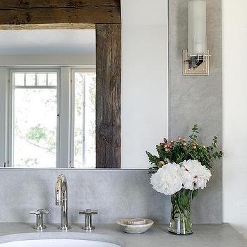 Inset Vanity Mirror Design Ideas