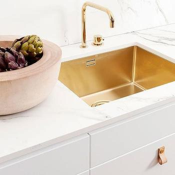 brass kitchen faucet design ideas