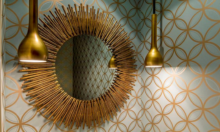 Gold Mirror Design Ideas