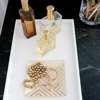 blue lacquer bathroom tray design ideas,