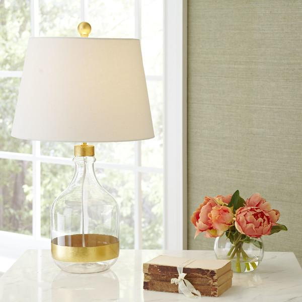 Kirklands Table Lamps Stunning Kirkland Gold Glass Table Lamps