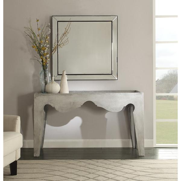 deep console table grey console table products bookmarks design inspiration and
