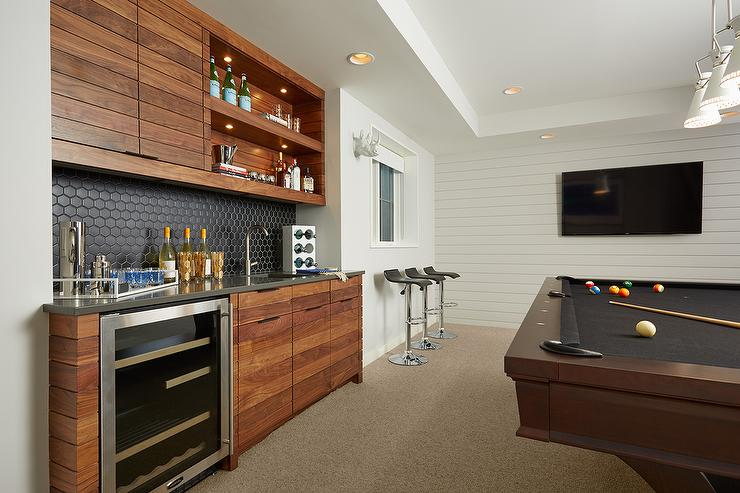 game room wet bar design ideas
