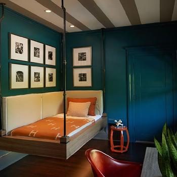 Decorpad & Industrial Hanging Kids Bed Design Ideas