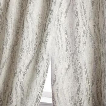 Silver Kathy Fielder Rayne Curtains