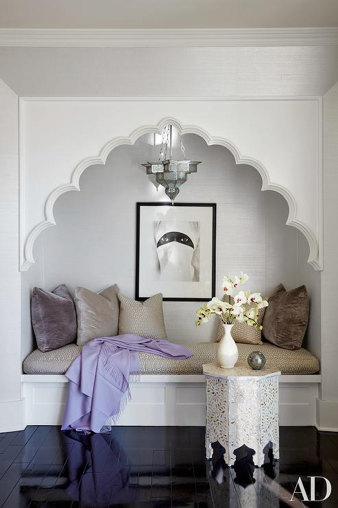 Moroccan Style Bedroom Reading Nook Mediterranean Bedroom