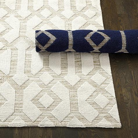 Cream Trellis Pattern Rug Products bookmarks design inspiration