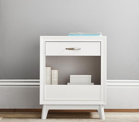 Exceptional White Reese Nightstand