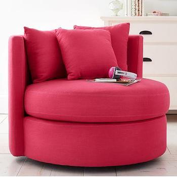 Magenta Velvet Marryn Chair