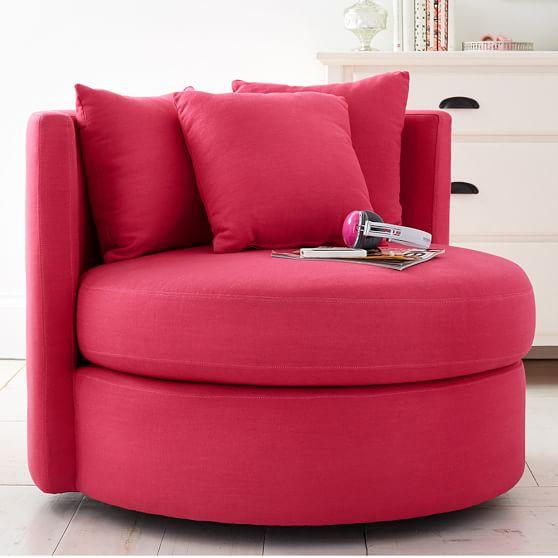 Magenta Round About Chair