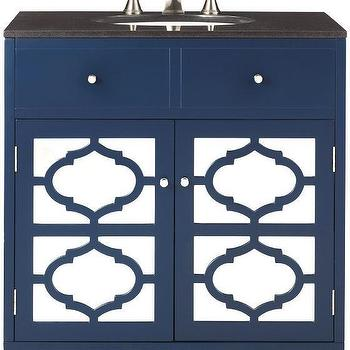 Blue Reflections Single Vanity. Geometric Doors Vanity   Products  bookmarks  design  inspiration