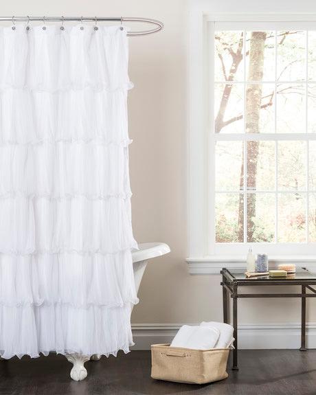 Lush Decor Nerina Shower Curtain