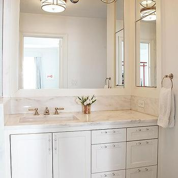 Vanity Pulls Bathroom lucite cabinet pulls design ideas