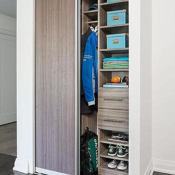 Condo Foyer Closet With Modular System