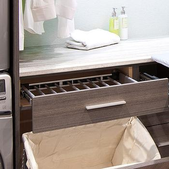 Pull Out Laundry Room Cabinet With Ironing Board